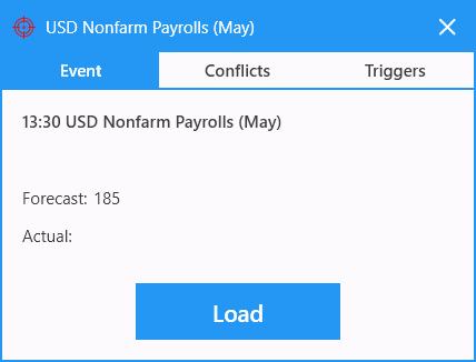News Trader Pro - Event